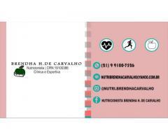 BRENDHA CARVALHO | NUTRICIONISTA